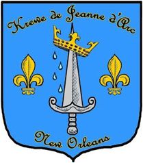 Seal of the Krewe de Jeanne d'Arc.