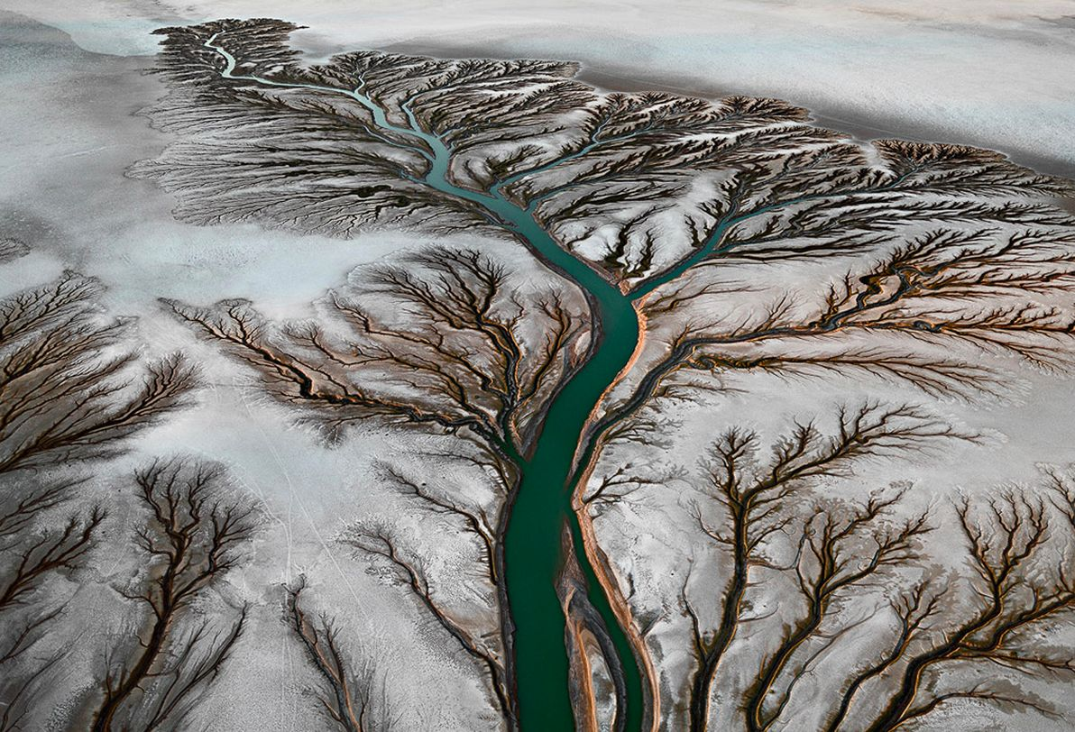 Edward Burtynsky, Colorado River Delta #2.