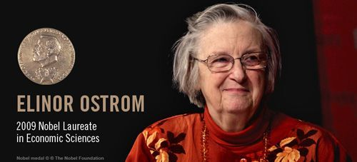 Nobel Prize winner Elinor Ostrom.