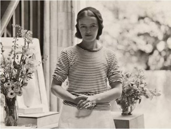 Barbara Hepworth was a British artist [1903-1975] best known for her abstract sculptures.