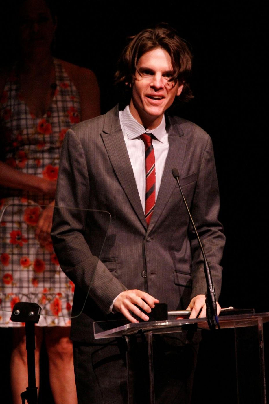 2014 LUCILLE LORTEL AWARDS GALLERY: Alex Timbers won for Outstanding Director.