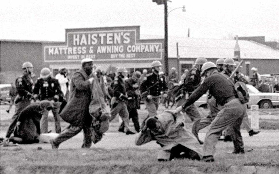 March 7, 1965, Civil rights voting march in Selma, Alabama.