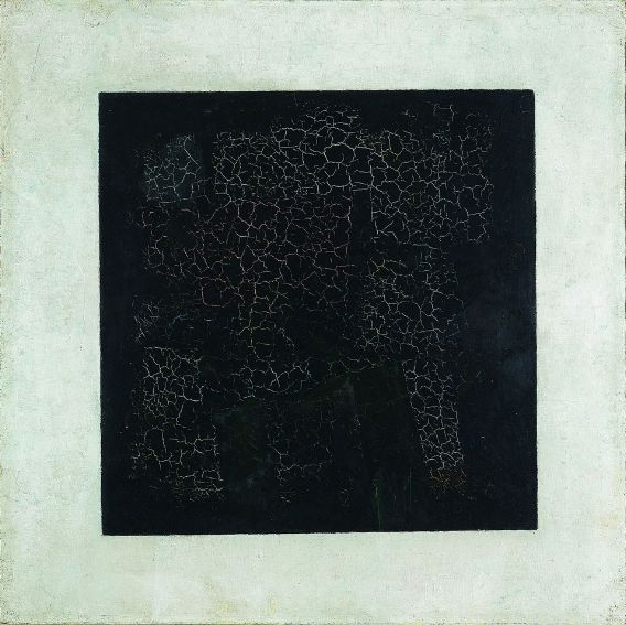 Malevich's 'Black Square.'