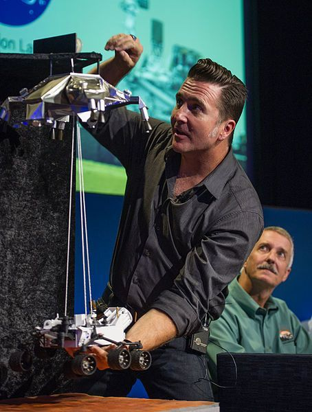 Adam Steltzner of the Mars Rover Team won the American Ingenuity Award for Technology.