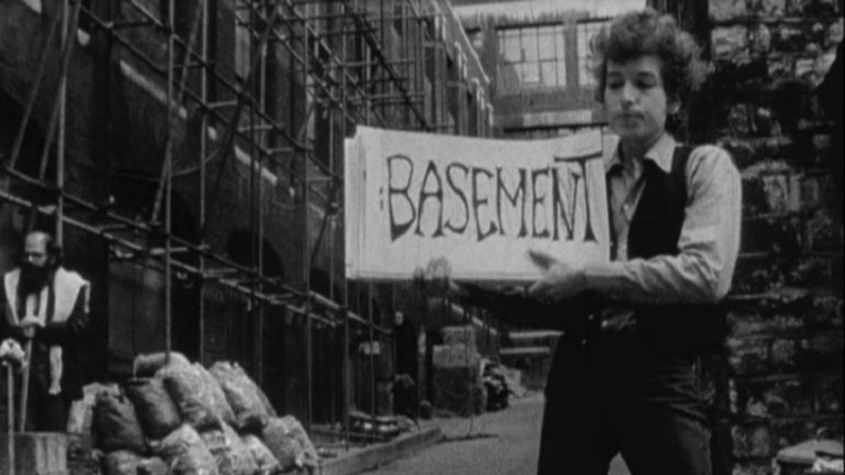 Still from D. A. Pennebaker's documentary 'Dont Look Back.' (1965)