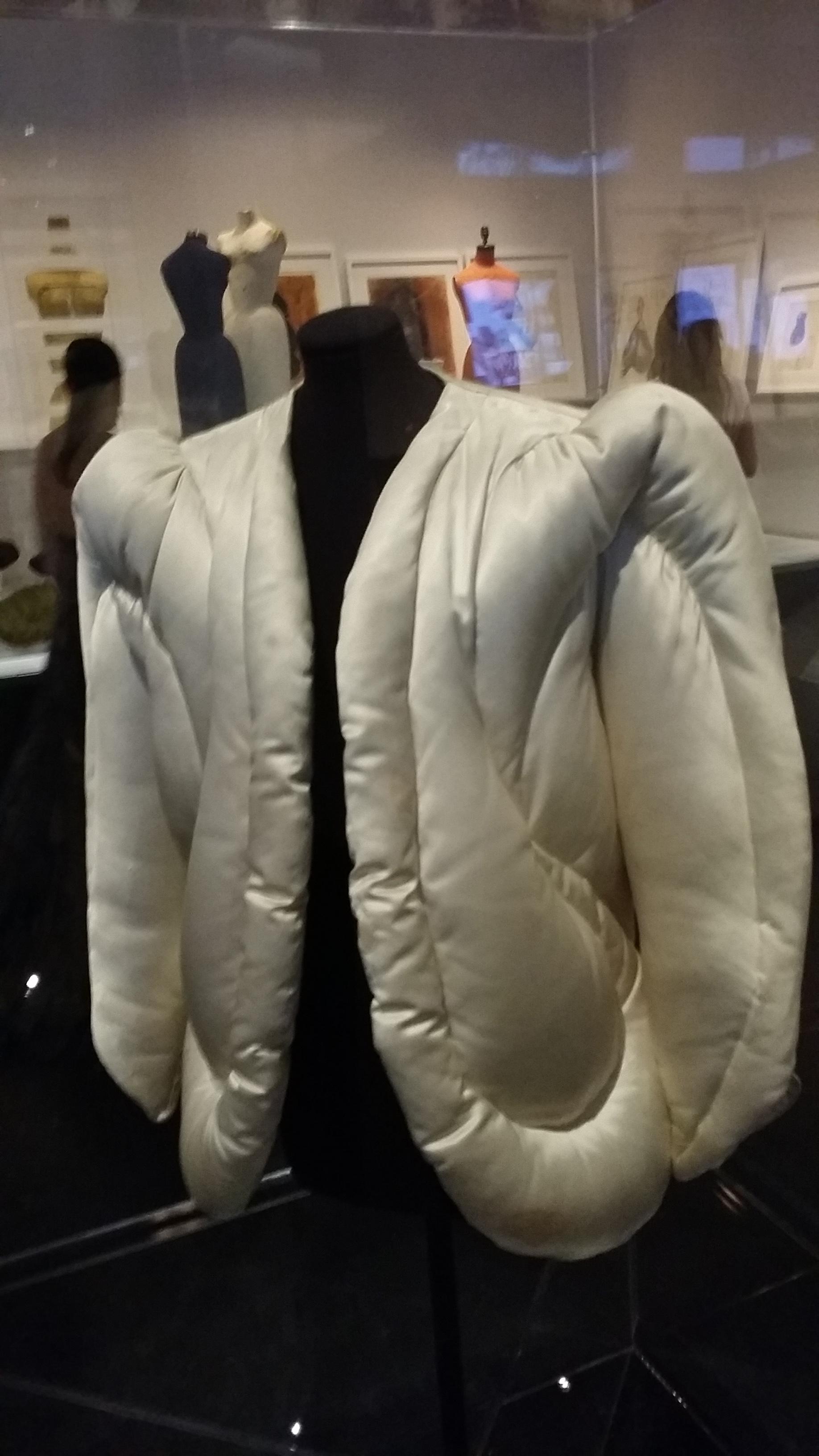 Charles James puffer coat.