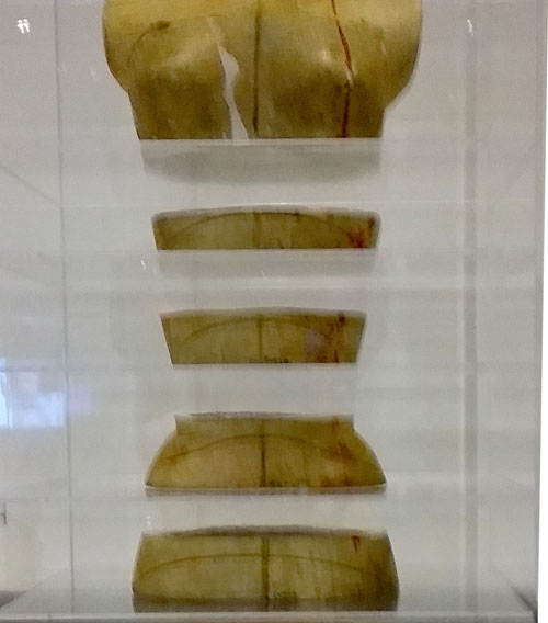 Dress Form, a structural work in five pieces.