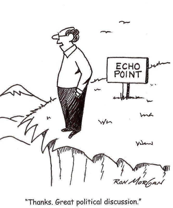 Cartoon by Ron Morgan.