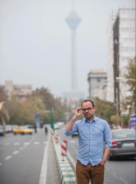 "Iran's ""blogfather"" Hossein Derakhshan."