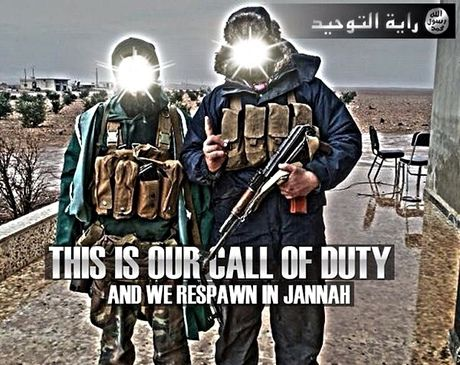 ISIS propaganda.