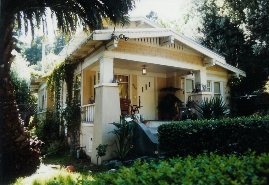 A typical California Bungalow in Berkeley, CA.